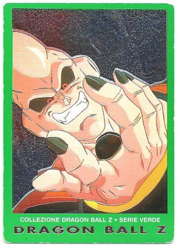 Super Bu Vegekou trasformato in caramella 44 Carte Collezione Dragon Ball Z Serie Verde