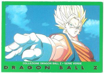 Vegekou 14 Carte Collezione Dragon Ball Z Serie Verde