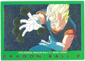 Vegekou 20 Carte Collezione Dragon Ball Z Serie Verde