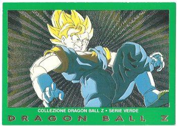 Vegekou 25 Carte Collezione Dragon Ball Z Serie Verde
