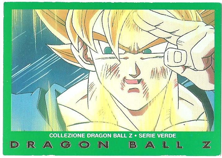 Vegekou 59 Carte Collezione Dragon Ball Z Serie Verde
