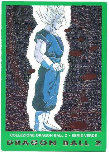 Vegekou 65 Carte Collezione Dragon Ball Z Serie Verde