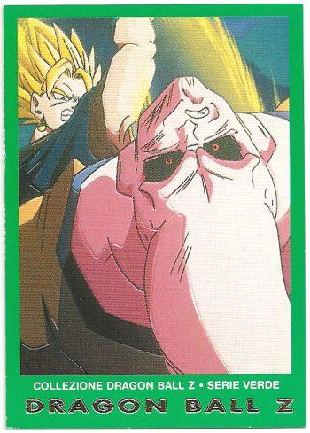 Vegekou Super Bu 15 Carte Collezione Dragon Ball Z Serie Verde