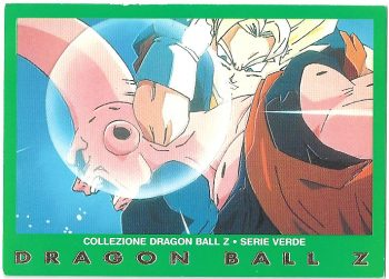 Vegekou Super Bu 31 Carte Collezione Dragon Ball Z Serie Verde