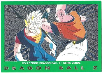 Vegekou Super Bu 37 Carte Collezione Dragon Ball Z Serie Verde