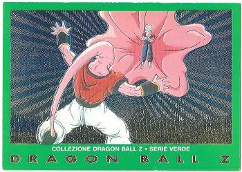 Vegekou Super Bu 61 Carte Collezione Dragon Ball Z Serie Verde