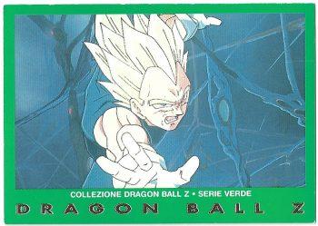 Vegeta 70 Carte Collezione Dragon Ball Z Serie Verde