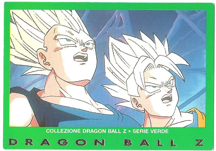 Vegeta Goku 68 Carte Collezione Dragon Ball Z Serie Verde