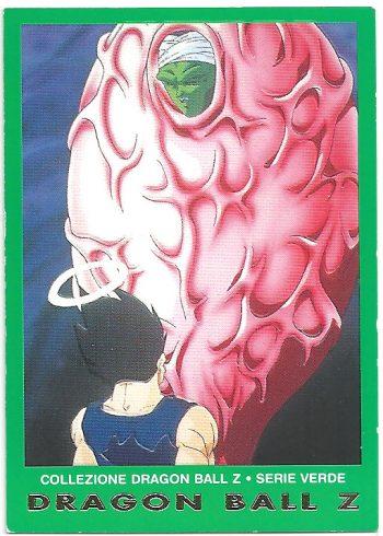 Vegeta Junior 74 Carte Collezione Dragon Ball Z Serie Verde