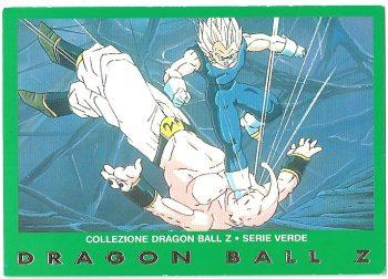 Vegeta Super Bu 81 Carte Collezione Dragon Ball Z Serie Verde