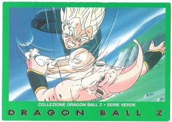 Vegeta Super Bu 82 Carte Collezione Dragon Ball Z Serie Verde