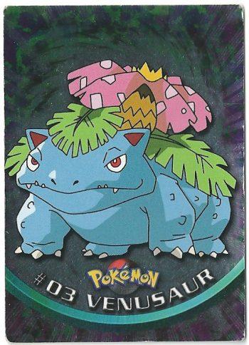 Venusaur 03 Foil Serie 1 Carte Pokémon TOPPS