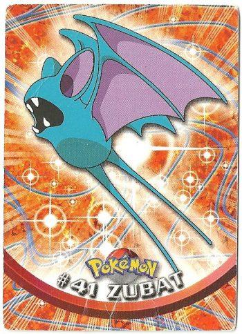 Zubat 41 Serie 1 Carte Pokémon TOPPS