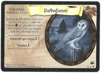 Barbagianni Diagon Alley 3280 Non Comune Carte Harry Potter