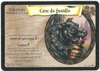 Cane da guardia Set Base 53116 Non Comune Carte Harry Potter rotated