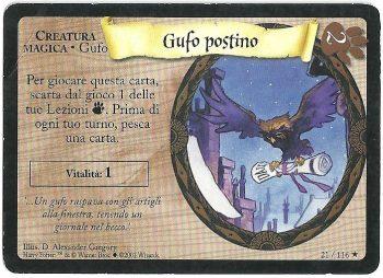 Gufo postino Set Base 21116 Rara Carte Harry Potter rotated