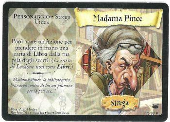 Madama Pince Diagon Alley 2180 Rara Carte Harry Potter