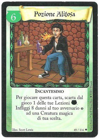 Pozione Alitosa Set Base 49116 Non Comune Carte Harry Potter