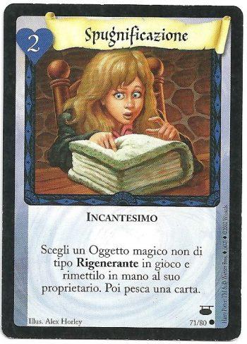 Spugnificazione Diagon Alley 7180 Comune Carte Harry Potter