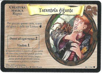Tarantola gigante Set Base 88116 Comune Carte Harry Potter rotated