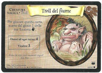 Troll del fiume Diagon Alley 6880 Comune Carte Harry Potter