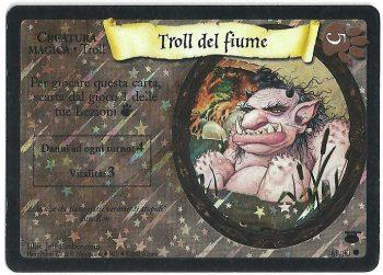 Troll del fiume Diagon Alley 6880 Comune Holo Foil Carte Harry Potter
