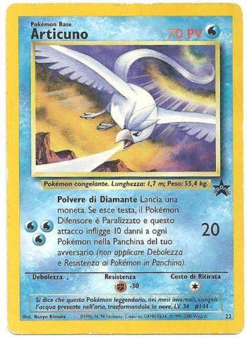 Articuno Wizards Black Star Promos 22 Promo Carte Pokémon