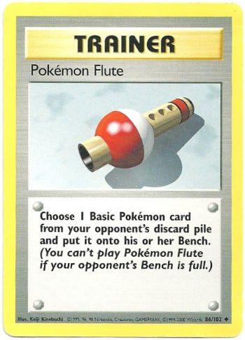 Poké Flauto – Set Base – 86102 – Non Comune – Carte Pokémon