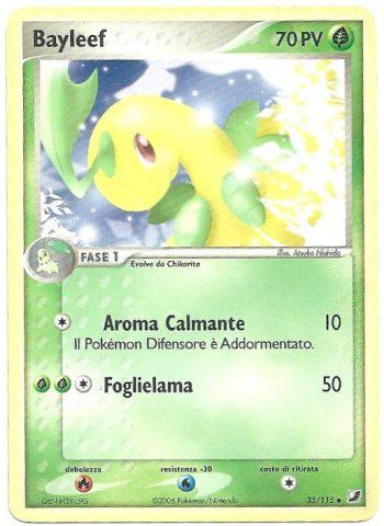 Bayleef-EX-Forze-Segrete-35115-Non-Comune-Carte-Pokémon