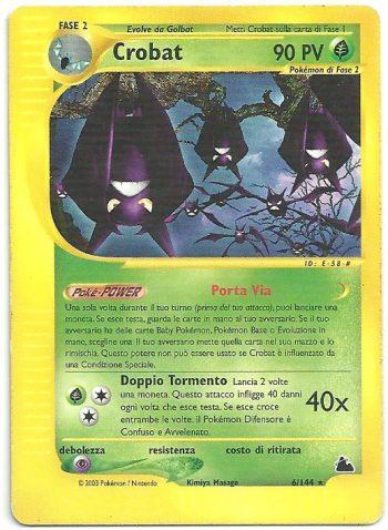 Crobat-Skyridge-6144-Rara-Carte-Pokémon