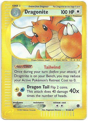 Dragonite-Expedition-9165-Rara-Holo-Carte-Pokémon