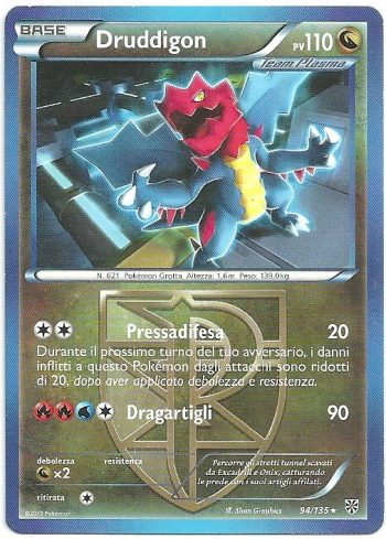 Druddigon-Uragano-Plasma-94135-Rara-Carte-Pokémon