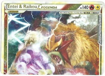 Entei-Raikou-LEGGENDA-Top-Forze-Scatenate-9095-Ultra-Rara-Carte-Pokémon