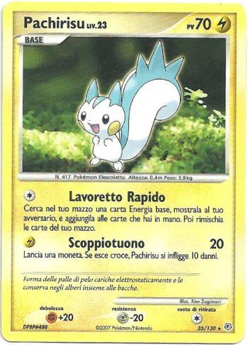 Pachirisu-Lv23-Diamante-Perla-35130-Rara-Carte-Pokémon