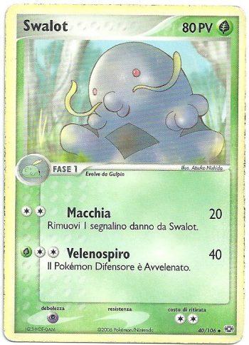 Swalot-EX-Smeraldo-40106-Non-Comune-Carte-Pokémon