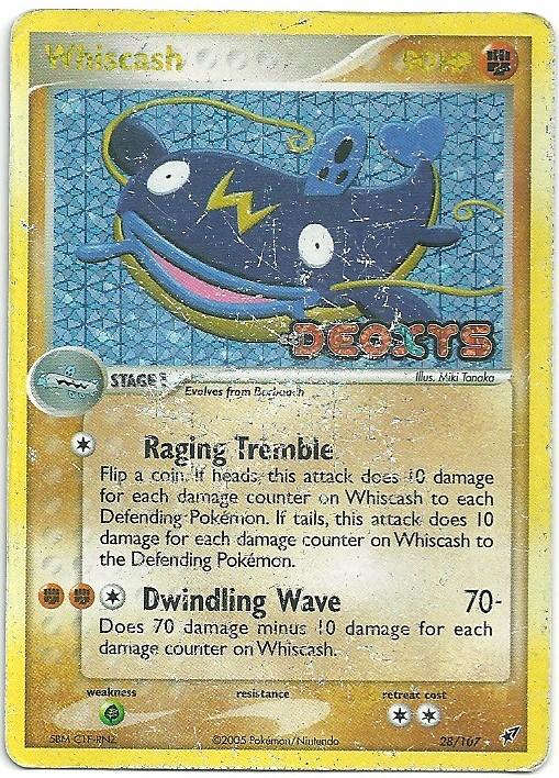 Whiscash-EX-Deoxys-28107-Rara-Carte-Pokémon