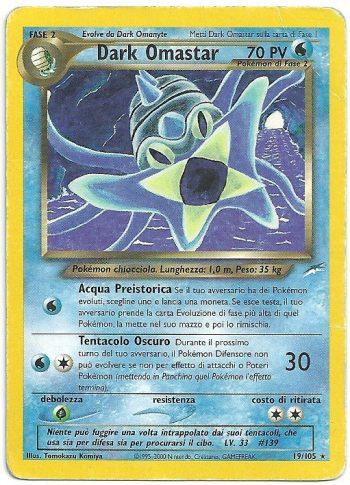 Dark-Omastar-Neo-Destiny-19105-Rara-Carte-Pokémon