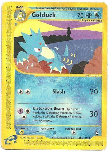 Golduck-Aquapolis-50147-Non-Comune-Carte-Pokémon